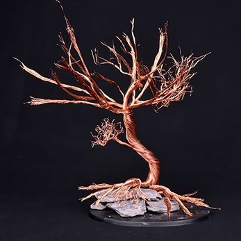 How to Make Trees for Miniatures & Wargames Models - Step 2b