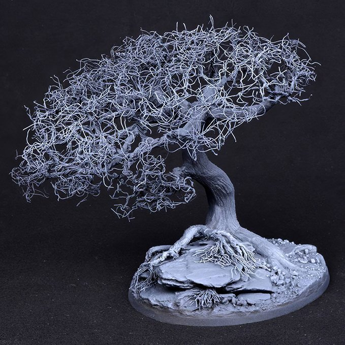 How to Make Trees for Miniatures & Wargames Models - Step 4