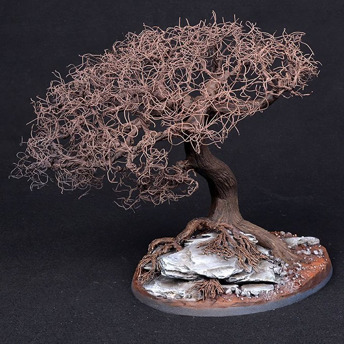 How to Make Trees for Miniatures & Wargames Models - Step 5