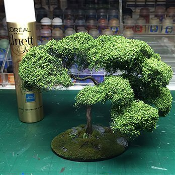 How to Make Trees for Miniatures & Wargames Models - Step 6b