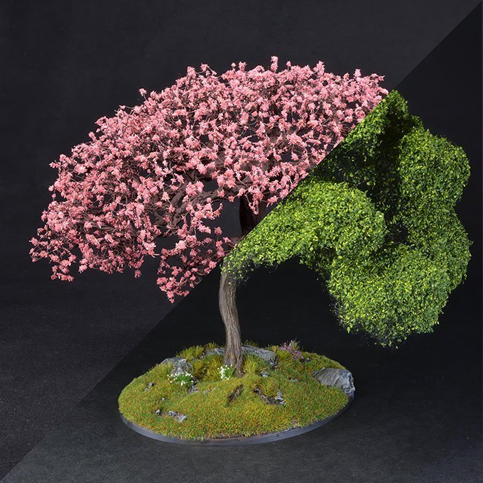 How to Make Trees for Miniatures & Wargames Models - Step 7