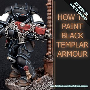 How to Paint Black Templars Armour