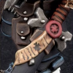 How to Paint Black Templars Armour - Step 6a