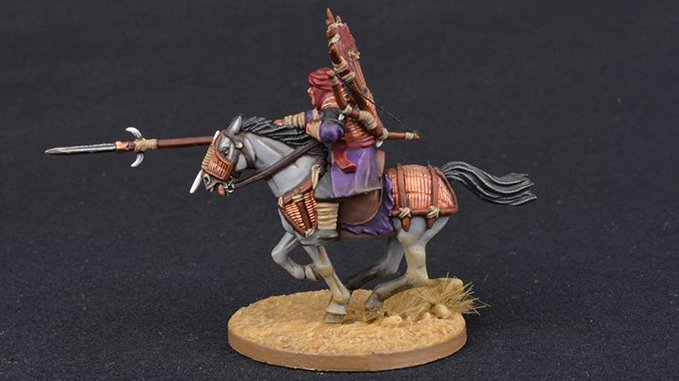 How to Paint Miniature Horses for Wargames - 2 Grey