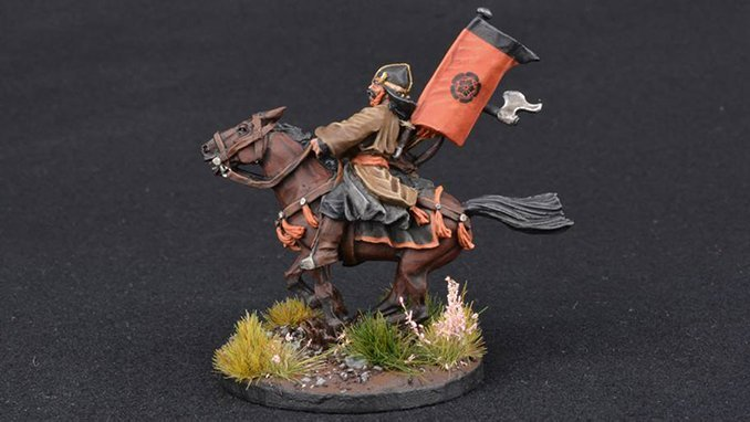 How to Paint Miniature Horses for Wargames - 3 Dark Brown
