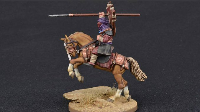 How to Paint Miniature Horses for Wargames - 4 Tan