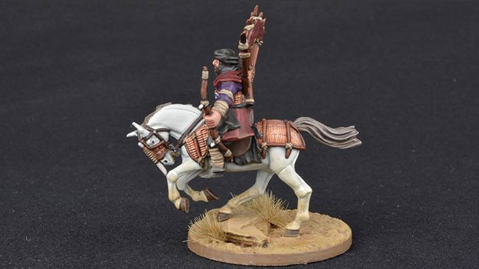 How to Paint Miniature Horses for Wargames - 7 White
