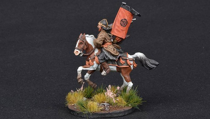 How to Paint Miniature Horses for Wargames - 8 Pinto