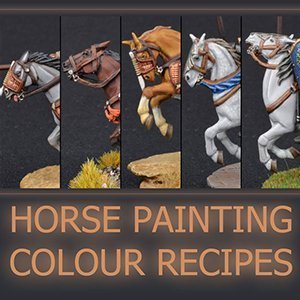 How to Paint Miniature Horses for Wargames
