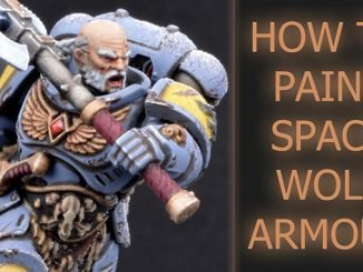 Come dipingere Space Wolves Armor - In primo piano