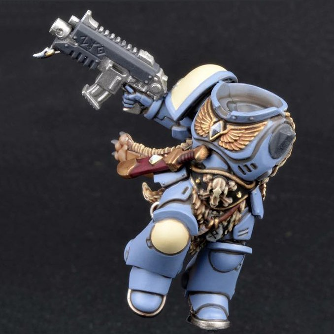How to Paint Space Wolves Armour - Step 5