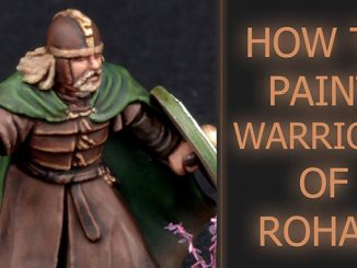 Come dipingere Warriors of Rohan - In primo piano