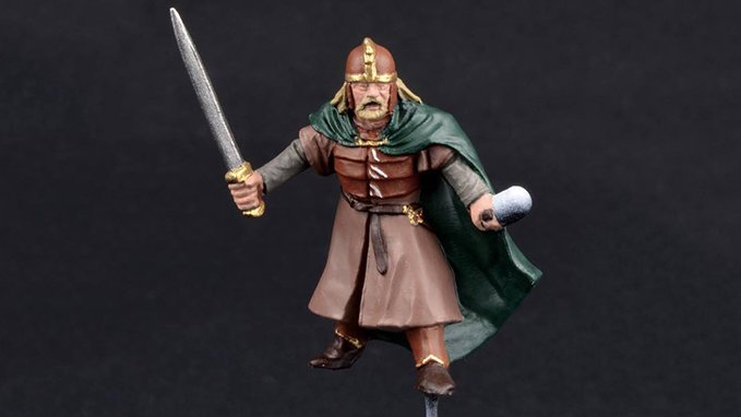How to Paint Warriors of Rohan - Step 2
