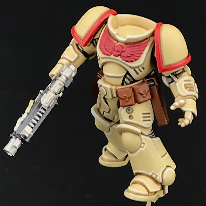 How to paint Imperial Fists Armour - Step 4