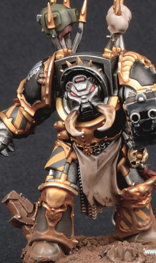 Wie man Iron Warriors Chaos Space Marines malt - Komplett