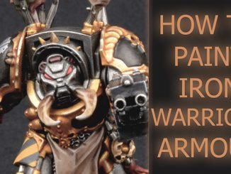 Come dipingere Iron Warriors Chaos Space Marines - In primo piano