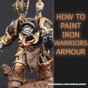 Comment peindre l'armure Iron Warriors
