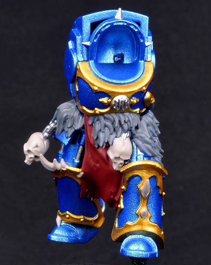How to paint Night Lords Armour - Step 1