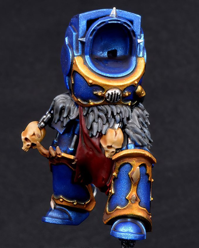 How to paint Night Lords Armour - Step 2