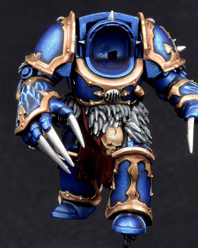 How to paint Night Lords Armour - Step 3