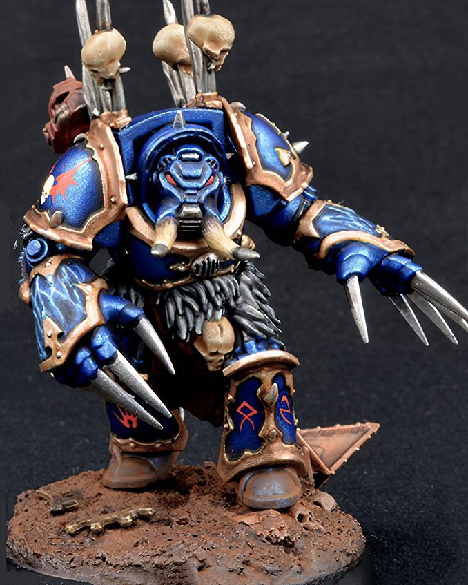 Come dipingere Night Lords Armor - Step 4
