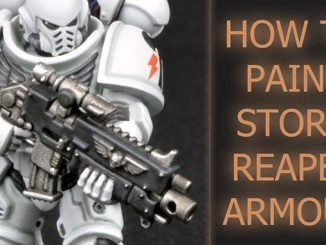 How to paint Storm Reapers Armour - Featured