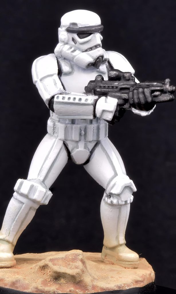 How to paint Storm Trooper Armour - Complete