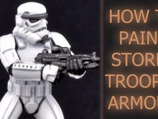 Come dipingere Storm Trooper Armor - In primo piano
