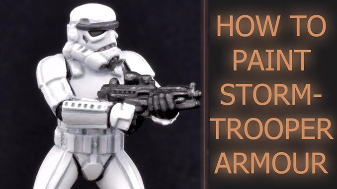 How to paint Storm Trooper Armour - Featured