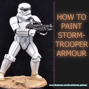 How to paint Storm Trooper Armour