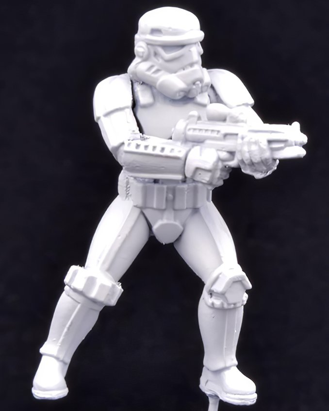 How to paint Storm Trooper Armour - Step 2
