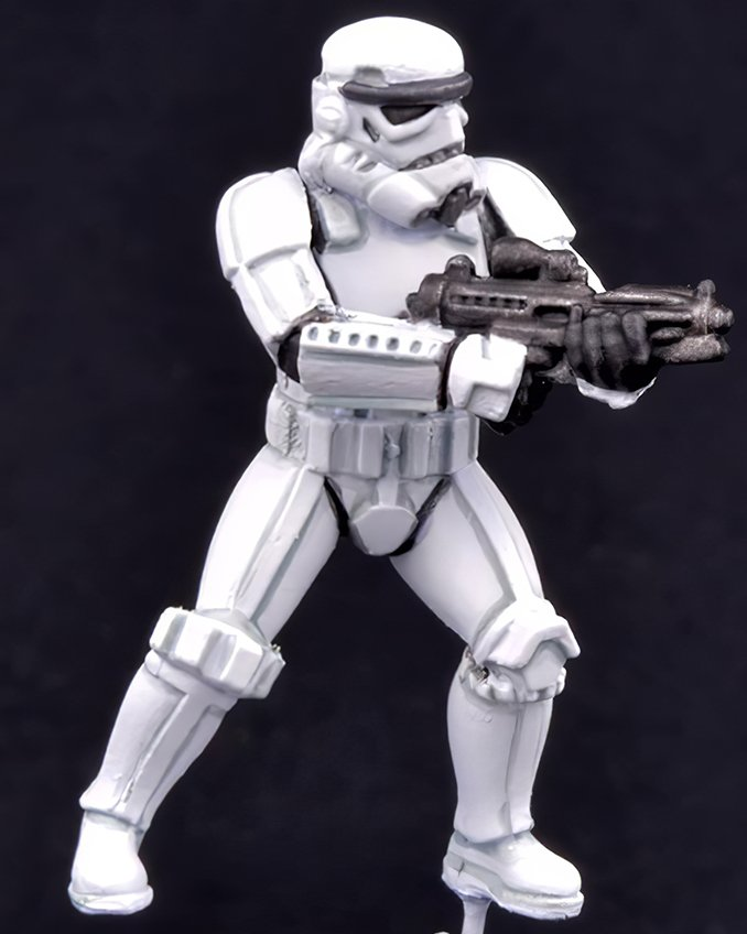 How to paint Storm Trooper Armour - Step 4