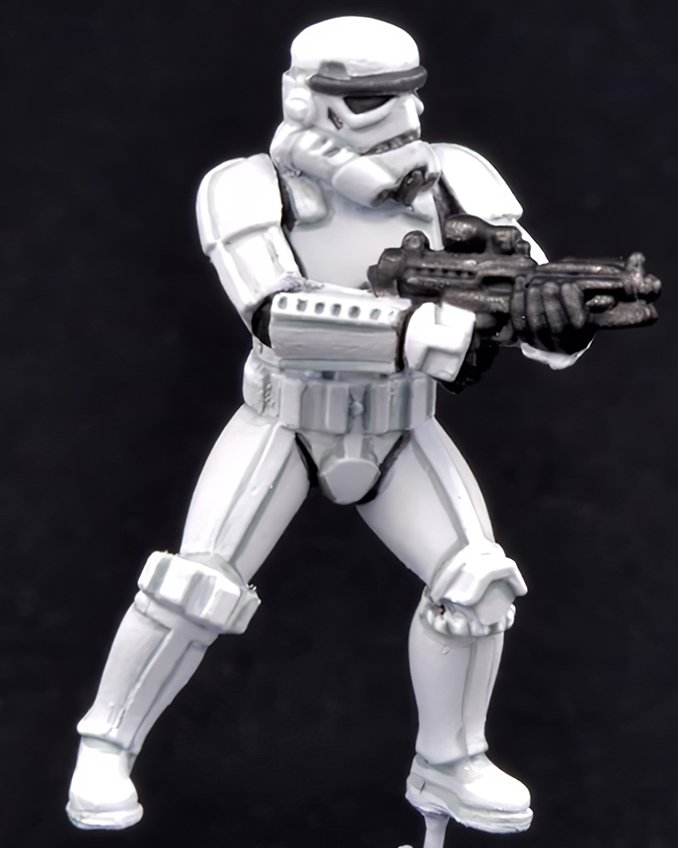 How to paint Storm Trooper Armour - Step 5