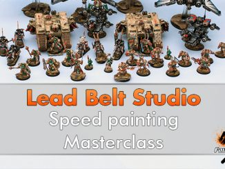 Lead Belt Studio - Masterclass di speed painting - In primo piano