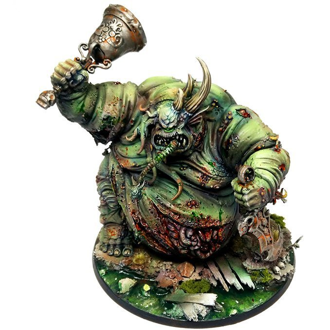 Lead belt Studio Speed Painting Masterclass - Great Unclean One