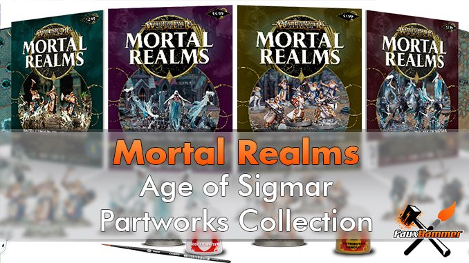 Mortal Realms - Warhammer Age of Sigmar Partworks Collection - Destacado