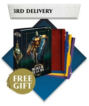 Mortal Realms - Warhammer Age of Sigmar Partworks Collection - 3rd Delivery Contenido