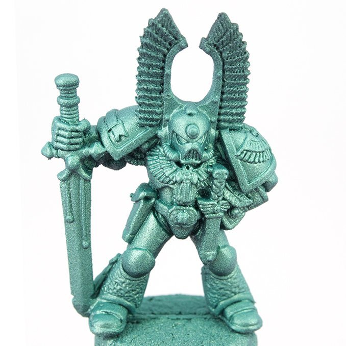 Turbodork Paint range review for Miniatures & Wargames Models - Dark Angel 2 - Absinthe