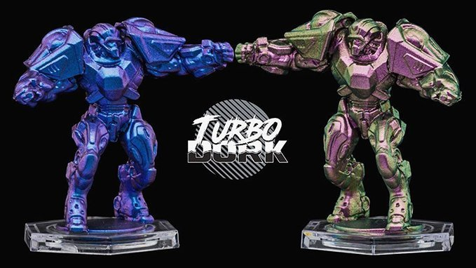 Turbodork Paint range review for Miniatures & Wargames Models - Example
