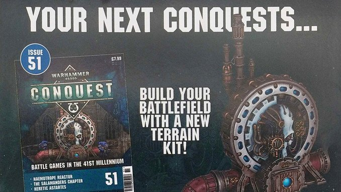 Warhammer Conquest Issues 51 & 52 Contents - Featured