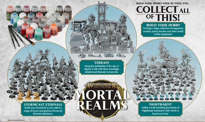 Mortal Realms All Issues Contents - Featured