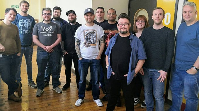 David Soper - Troggoth Masterclass Workshop - Group Photo