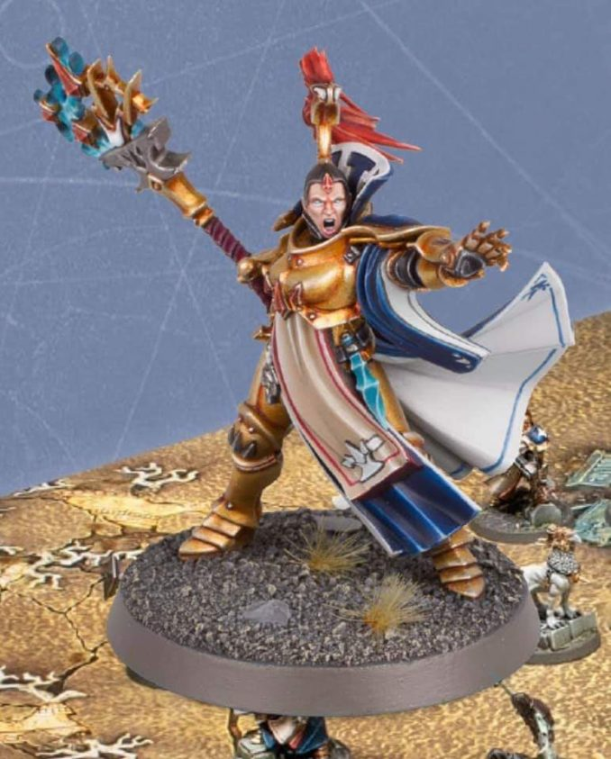 Mortal Realms Full Contents - Issue 5 - Xandria AzureBolt Knight Incantor (Exclusive)