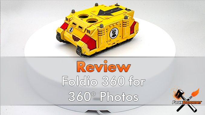 Foldio 360 Review - Featured
