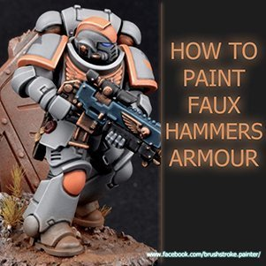 How to Paint FauxHammer Space Marines