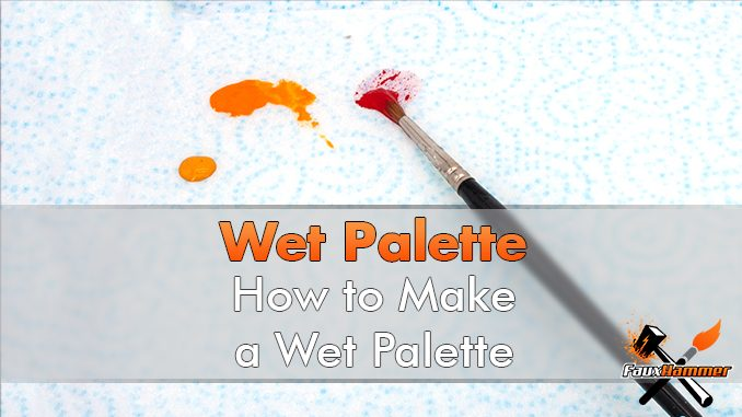 How to make a Wet Palette - Featured