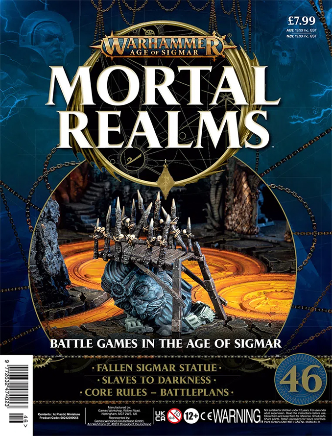 Mortal Realms Contents Issue 46 - Fallen Sigmar Statue