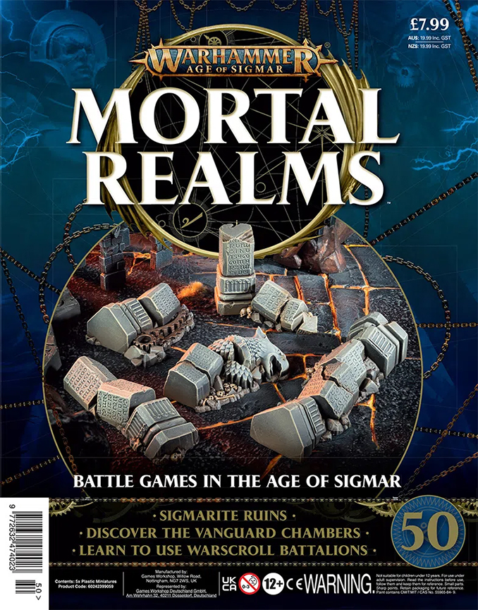 Mortal Realms Contents Issue 50 - Sigmarite Ruins