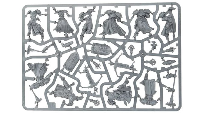 Mortal Realms Full Contents - Issue 9 - 3 Sequitors 2 Castigators - Soul Wars Sprue B