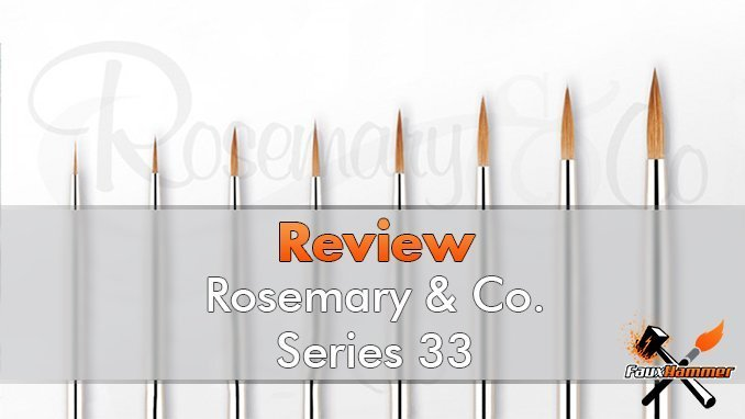 Rosemary & Co - Recensione Pennello Serie 33 - In primo piano